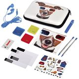 Hama Set Happy Dog für Nintendo 3DS XL