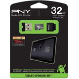 32 GB PNY Android Upgrade Kit microSDHC Class 10 Retail inkl. USB-Adapter