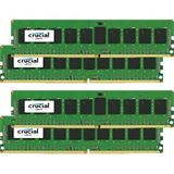 16GB Crucial CT4K4G4DFS8213 DDR4-2133 DIMM CL16 Quad Kit