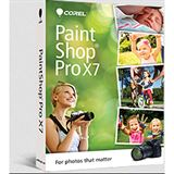 Corel PaintShop Pro X7 32/64 Bit Multilingual Grafik Vollversion PC (DVD)