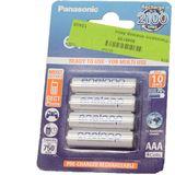 Panasonic eneloop HR03 Nickel-Metall-Hydrid AAA Micro Akku 750 mAh 4er Pack