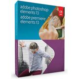 Adobe Photoshop Elements 13.0 und Premiere Elements 13.0 32/64 Bit Englisch Grafik Vollversion PC/Mac (DVD)