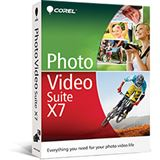 Corel Photo Video Suite X7 32/64 Bit Deutsch Videosoftware Vollversion PC (DVD)