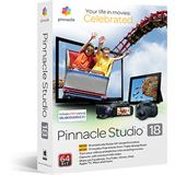 Corel Pinnacle Studio 18 32/64 Bit Multilingual Videosoftware Vollversion PC (DVD)