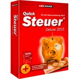 Lexware QuickSteuer Deluxe 2015 32/64 Bit Deutsch Finanzen Vollversion PC (CD)