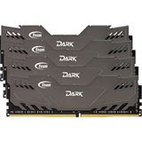 16GB TeamGroup Dark Series grau DDR4-2666 DIMM CL15 Quad Kit