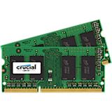 16GB Crucial CT2KIT102464BF160B DDR3L-1600 SO-DIMM CL11 Dual Kit