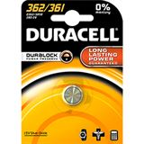 Duracell Batterie Silver Oxide, Knopfzelle, 362/361, 1.5V