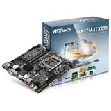 ASRock H81TM-ITX Intel H81 So.1150 Dual Channel DDR3 Mini-ITX Retail