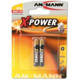 Ansmann Alkaline X-Power Batterie, (AAAA), 2er Pack (1510-0005)