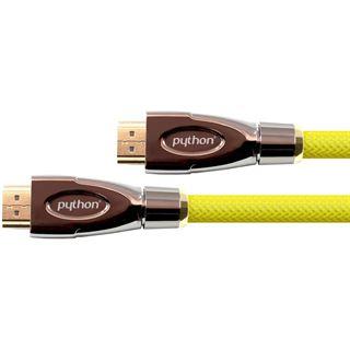 5.00m PYTHON HDMI Anschlusskabel High-Speed mit