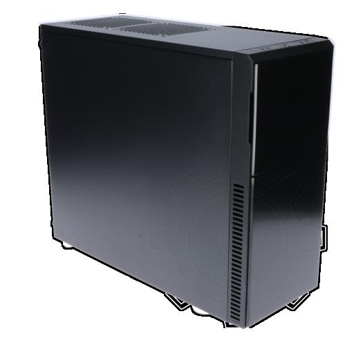 360 - Nanoxia Deep Silence 3 gedämmt Midi Tower ohne Netzteil schwarz