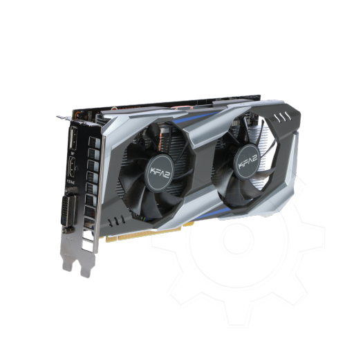 360 - 3GB KFA2 GeForce GTX 1060 OC Aktiv PCIe 3.0 x16 (Retail)