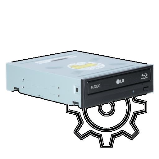360 - LG Electronics BH16NS55 Blu-ray Disc Writer SATA intern schwarz Bulk