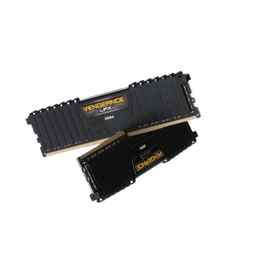 360 - 16GB Corsair Vengeance LPX LP schwarz DDR4-3200 DIMM CL16 Dual Kit