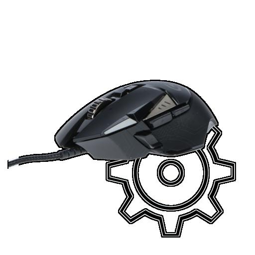 360 - Logitech G502 Proteus Spectrum USB schwarz (kabelgebunden)