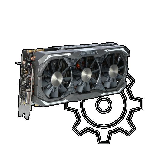 360 - 8GB ZOTAC GeForce GTX 1080 AMP! Extreme Edition Aktiv PCIe 3.0 x16