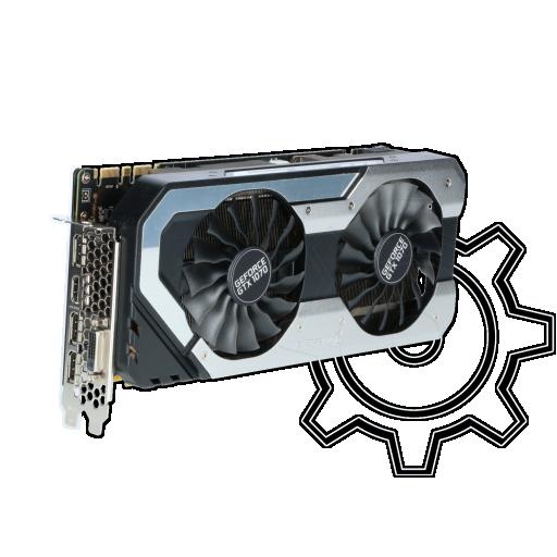 360 - 8GB Palit GeForce GTX 1070 JetStream Aktiv PCIe 3.0 x16 (Retail)