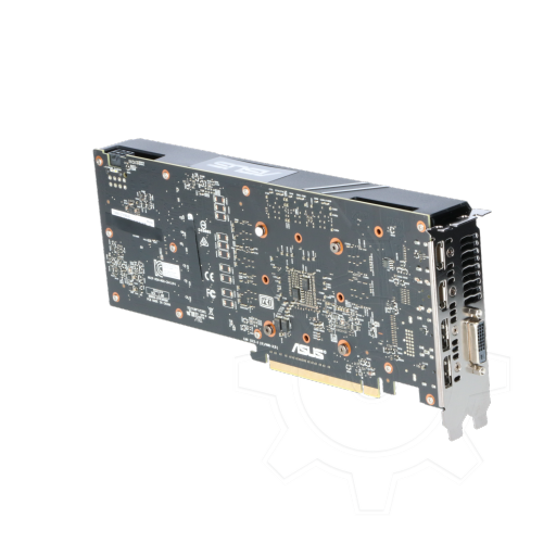 360 - 6GB Asus GeForce GTX 1060 Turbo Aktiv PCIe 3.0 x16 (Retail)