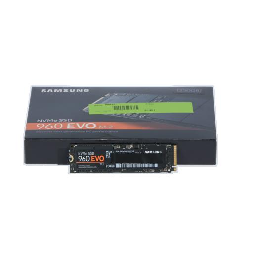 360 - 250GB Samsung 960 Evo M.2 2280 NVMe PCIe 3.0 x4 32Gb/s 3D-NAND TLC
