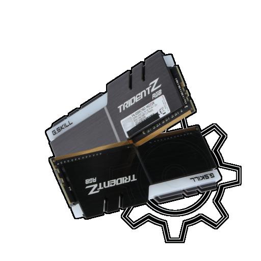 360 - 16GB G.Skill Trident Z RGB DDR4-3200 DIMM CL16 Dual Kit