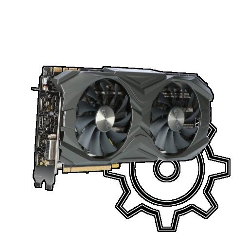 360 - 11GB ZOTAC GeForce GTX 1080 Ti AMP Aktiv PCIe 3.0 x16 (Retail)