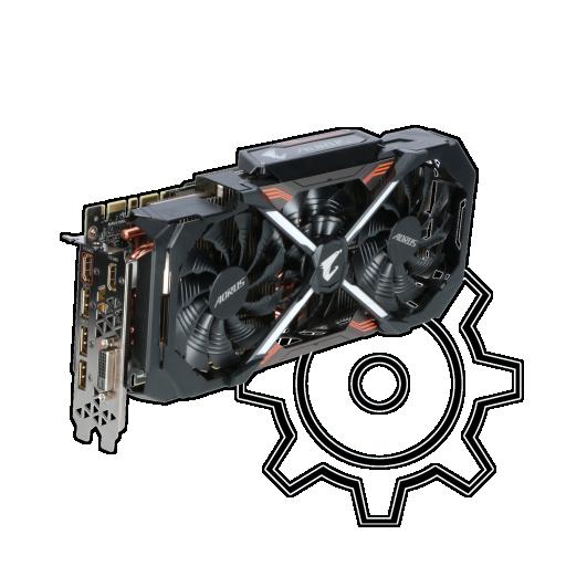 360 - 11GB Gigabyte GeForce GTX 1080 Ti AORUS Aktiv PCIe 3.0 x16 (Retail)