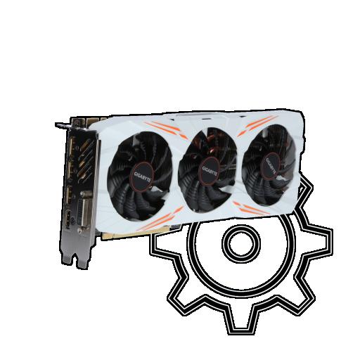 360 - 11GB Gigabyte GeForce GTX 1080 Ti Gaming OC Aktiv PCIe 3.0 x16