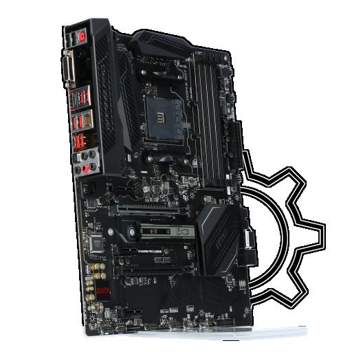 360 - MSI B350 GAMING PRO CARBON AMD B350 So.AM4 Dual Channel DDR4 ATX