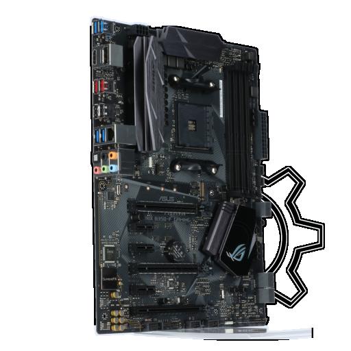 360 - Asus ROG Strix B350-F Gaming AMD B350 So.AM4 Dual Channel DDR4 ATX