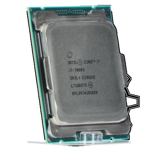 360 - Intel Core i7 7800X (U0 Stepping) 6x 3.50GHz So.2066 TRAY