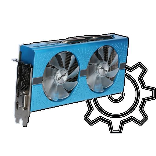 360 - 8GB Sapphire Radeon RX 580 Nitro+ Special Edition Aktiv PCIe 3.0 x16