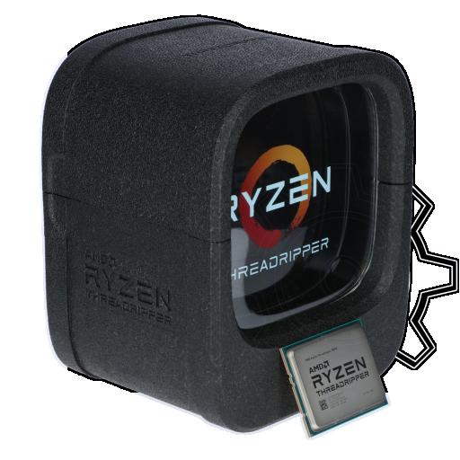 360 - AMD Ryzen Threadripper 1900X 8x 3.80GHz So.TR4 WOF