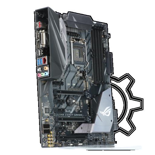 360 - Asus ROG STRIX Z370-F Gaming Intel Z370 So.1151 Dual Channel DDR4 ATX