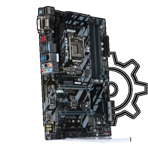360 - Gigabyte Z370 HD3P Intel Z370 So.1151 Dual Channel DDR4 ATX Retail