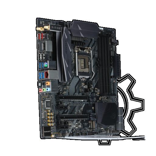 360 - Asus ROG Strix Z370-G Gaming WIFI-AC Intel Z370 So.1151 Dual Channel