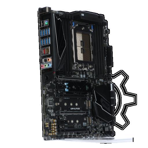 360 - MSI X399 SLI PLUS AMD X399 So.TR4 Quad Channel DDR4 ATX Retail