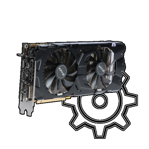 360 - 8GB KFA2 GeForce GTX 1070 Ti EX Aktiv PCIe 3.0 x16 (Bulk)