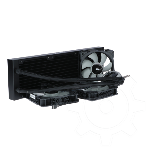 360 - Corsair Hydro H150i PRO RGB 360mm Radiator