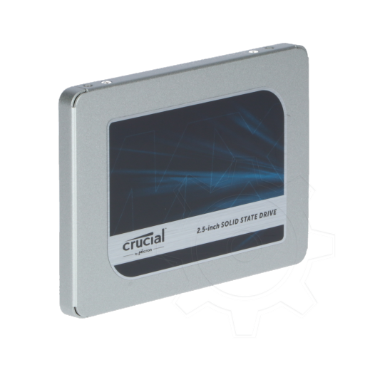 "360 - 500GB Crucial MX500 2.5"" (6.4cm) SATA 6Gb/s 3D-NAND TLC"