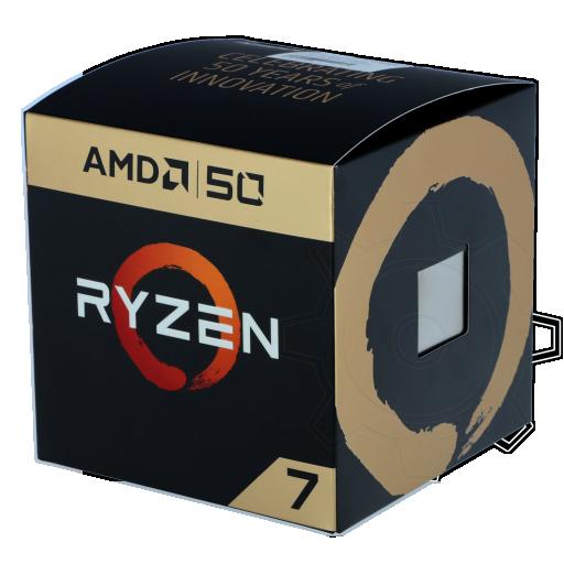 360 - AMD Ryzen 7 2700X 50th Anniversary Edition 8x 3.70GHz So.AM4 BOX