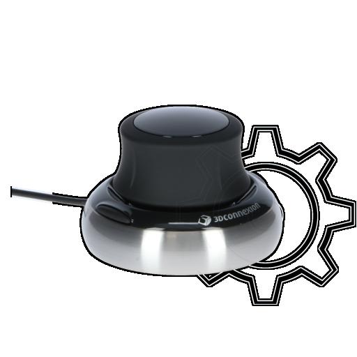 360 - 3Dconnexion SpaceNavigator USB schwarz/silber (kabelgebunden)