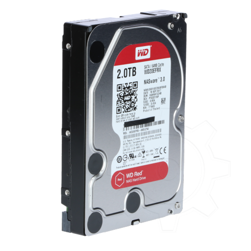 "360 - 2000GB WD Red Plus WD20EFRX 64MB 3.5"" (8.9cm) SATA 6Gb/s"