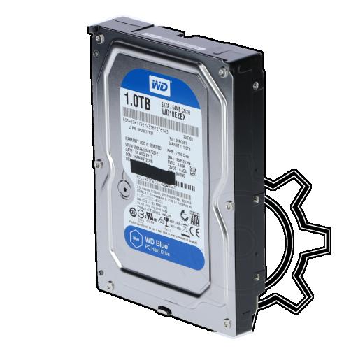 """360 - 1000GB WD Blue WD10EZEX 64MB 3.5"""" (8.9cm) SATA 6Gb/s"""