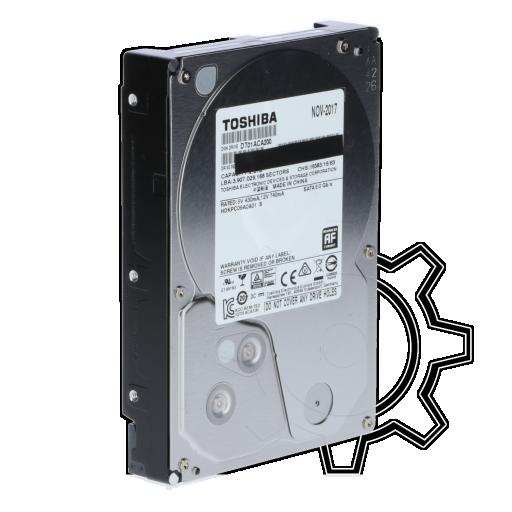 "360 - 2000GB Toshiba DT01ACA200 DT01ACA200 64MB 3.5"" (8.9cm) SATA 6Gb/s"