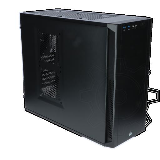360 - Corsair Carbide 200R Midi Tower ohne Netzteil schwarz