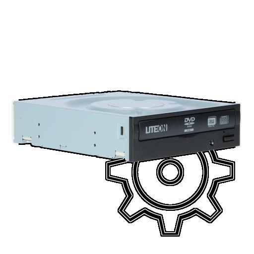 360 - LiteOn iHAS324 DVD-RW SATA intern schwarz Retail