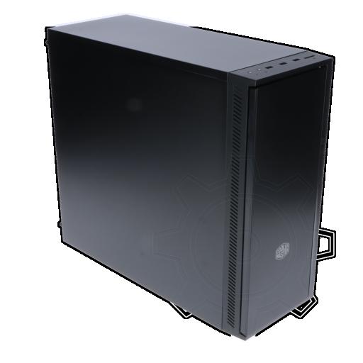 360 - Cooler Master Silencio 452 Midi Tower ohne Netzteil schwarz