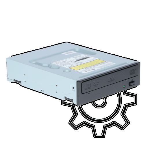 360 - Pioneer BDR-209DBK Blu-ray Disc Writer SATA intern schwarz Bulk