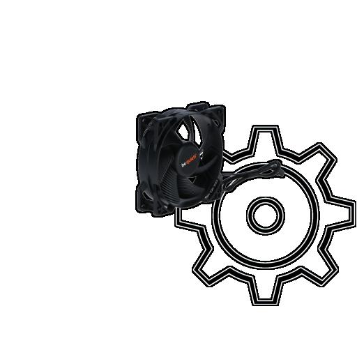 360 - be quiet! Pure Wings 2 92x92x25mm 1900 U/min 18.6 dB(A) schwarz